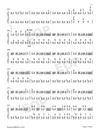 Night of Nights-Touhou Kaeidzuka-Numbered-Musical-Notation-Preview-4
