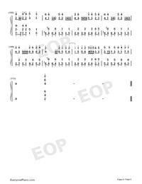 Night of Nights-Touhou Kaeidzuka-Numbered-Musical-Notation-Preview-6