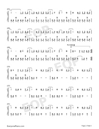 Poisoned Apple-G.E.M.-Numbered-Musical-Notation-Preview-2