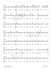 Sakura Rains-Numbered-Musical-Notation-Preview-6