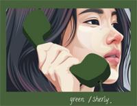綠色-若不是你突然闖進我生活-抖音歌曲