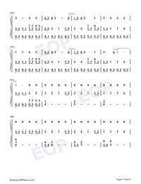 Illusionary Daytime-幻晝雙手簡譜預覽3