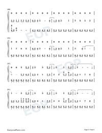 Illusionary Daytime-Shirfine Numbered Musical Notation Preview 4