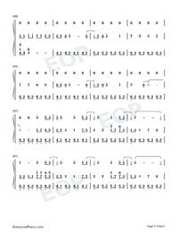 Illusionary Daytime-幻晝雙手簡譜預覽4