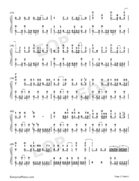 KODO-Magical Girl Spec-Ops Asuka OP-Numbered-Musical-Notation-Preview-2