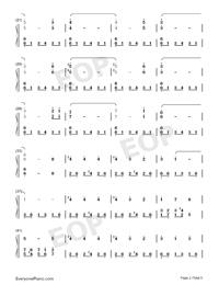Helvetesfonster-Ghost両手略譜プレビュー2