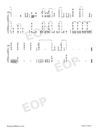 Endoro~ru-ENDRO~OP-Numbered-Musical-Notation-Preview-4