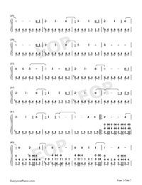 Welcome Home-Radical Face Numbered Musical Notation Preview 2
