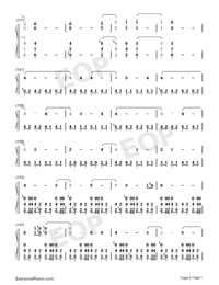 Welcome Home-Radical Face Numbered Musical Notation Preview 6