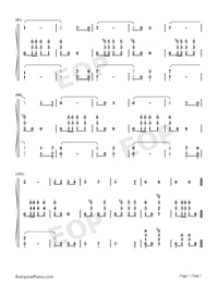 Farewell of Slavianka-Proshchaniye slavyanki Numbered Musical Notation Preview 7