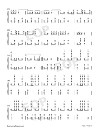 Under the Double Eagle-Numbered-Musical-Notation-Preview-2
