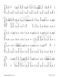 The Parade of the Wooden Soldiers-The Parade of the Tin Soldiers-Numbered-Musical-Notation-Preview-5