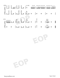 The Parade of the Wooden Soldiers-The Parade of the Tin Soldiers-Numbered-Musical-Notation-Preview-6