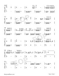 Liu Lian-Accompaniment-Numbered-Musical-Notation-Preview-2