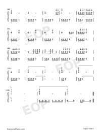 Liu Lian-Accompaniment-Numbered-Musical-Notation-Preview-4