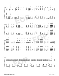 Carmen Prelude-Korean Style-Numbered-Musical-Notation-Preview-2