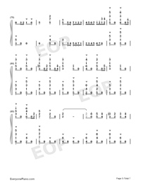 Carmen Prelude-Korean Style-Numbered-Musical-Notation-Preview-5