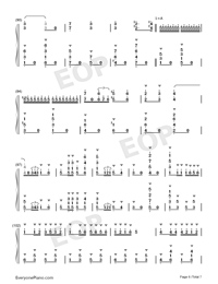 Carmen Prelude-Korean Style-Numbered-Musical-Notation-Preview-6
