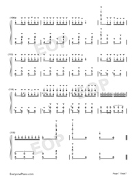 Carmen Prelude-Korean Style-Numbered-Musical-Notation-Preview-7