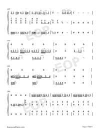 Sarang Heyo-JJ Lin-Numbered-Musical-Notation-Preview-3