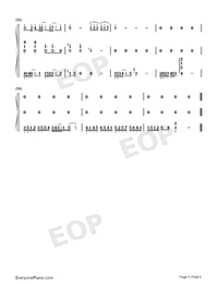 Sarang Heyo-JJ Lin-Numbered-Musical-Notation-Preview-5