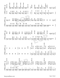Bad Guy-Billie Eilish-Numbered-Musical-Notation-Preview-2