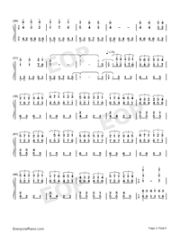 All of Me-Maksim Mrvica Numbered Musical Notation Preview 2