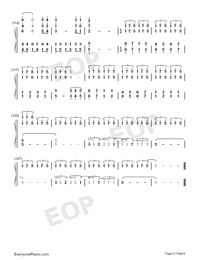 All of Me-Maksim Mrvica Numbered Musical Notation Preview 6