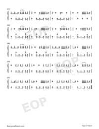 Middle Finger-Phoebe Ryan ft Quinn XCII-Numbered-Musical-Notation-Preview-5