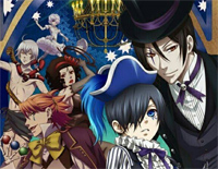 ENAMEL-Black Butler Book of Circus OP