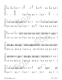 River Flows in You-Anniversary Version Numbered Musical Notation Preview 3