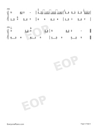 River Flows in You-Anniversary Version Numbered Musical Notation Preview 4