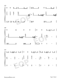 Elves-Wu Tsing-fong-Numbered-Musical-Notation-Preview-4