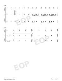 Elves-Wu Tsing-fong-Numbered-Musical-Notation-Preview-5
