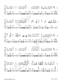 Lonesome for You Numbered Musical Notation Preview 3