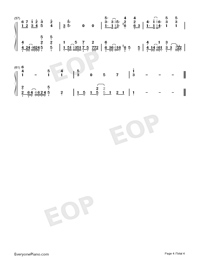 Lonesome for You Numbered Musical Notation Preview 4