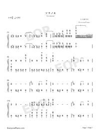 Soranone-The Magnificent Kotobuki OP-Numbered-Musical-Notation-Preview-1