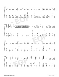 Soranone-The Magnificent Kotobuki OP-Numbered-Musical-Notation-Preview-3