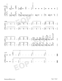 Soranone-The Magnificent Kotobuki OP-Numbered-Musical-Notation-Preview-7