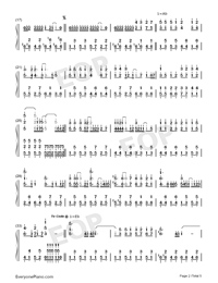 Dennou Skill-Hatsune Miku-Numbered-Musical-Notation-Preview-2