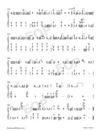 The Beacon-JJ Lin-Numbered-Musical-Notation-Preview-3