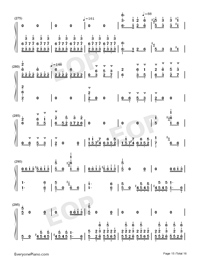 Hundred Birds Paying Homage to the Phoenix-Numbered-Musical-Notation-Preview-15