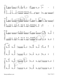 Hundred Birds Paying Homage to the Phoenix-Numbered-Musical-Notation-Preview-2