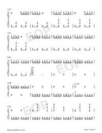 Hundred Birds Paying Homage to the Phoenix-Numbered-Musical-Notation-Preview-7