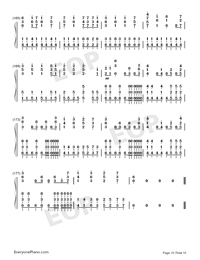 I Want My Tears Back-Nightwish Numbered Musical Notation Preview 10