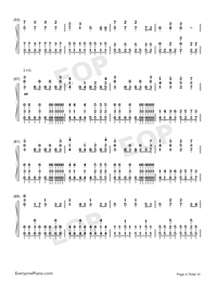 I Want My Tears Back-Nightwish-Numbered-Musical-Notation-Preview-4
