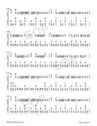 I Want My Tears Back-Nightwish Numbered Musical Notation Preview 8