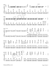 I Want My Tears Back-Nightwish Numbered Musical Notation Preview 9