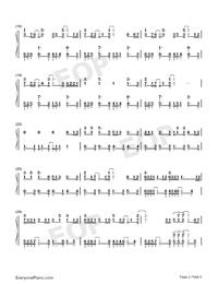 静悄悄-大泫両手略譜プレビュー2