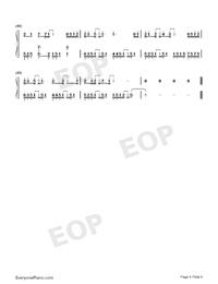静悄悄-大泫両手略譜プレビュー4